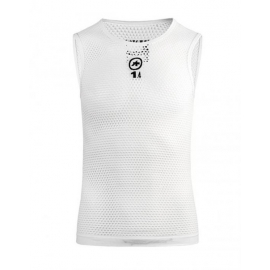 Sous vetement sans manches ASSOS NS SKINFOIL HOT SUMMER EVO7 - holyWhite