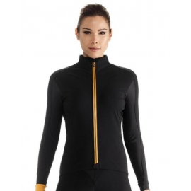 Veste coupe-vent Femme ASSOS HABU JACKET LAALALAI - blackSeries