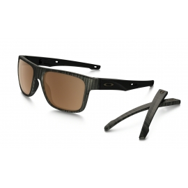 OAKLEY CROSSRANGE - WOODGRAIN - PRIZM TUNGSTEN POLARIZED - OO9361-0757