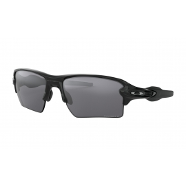 FLAK 2.0 XL - POLISHED BLACK - PRIZM BLACK POLARIZED - OO9188-7259