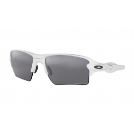 FLAK 2.0 XL - POLISHED WHITE - PRIZM BLACK POLARIZED - OO9188-7659