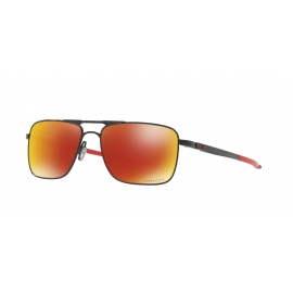 GAUGE 6 - POLISHED BLACK - PRIZM RUBY POLARIZED - OO6038-0457