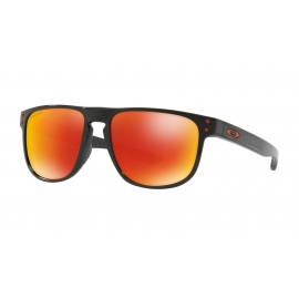 HOLBROOK R - POLISHED BLACK - PRIZM RUBY POLARIZED - OO9377-0755