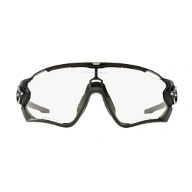 OAKLEY JAWBREAKER Polished Black Clear to Black Photochromic