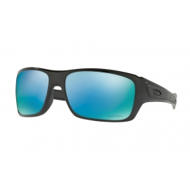 TURBINE - POLISHED BLACK - PRIZM DEEP WATER POLARIZED - OO9263-14