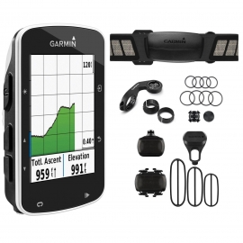 Compteur GPS GARMIN Edge 520 Bundle ( HRM + cadence + Vitesse)