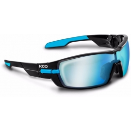 KASK KOO OPEN BLACK LIGHT BLUE