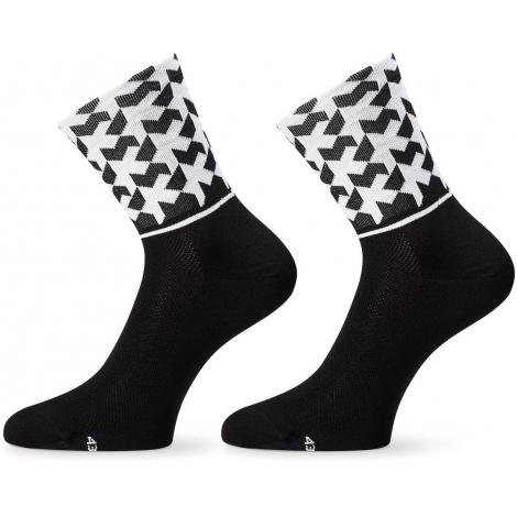 Socquettes ASSOS MONOGRAMSOCK EVO8 BLACK SERIES