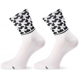 Socquettes ASSOS MONOGRAMSOCK EVO8 HOLY WHITE