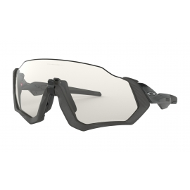 NEW OAKLEY FLIGHT JACKET - GREY INK - OO9401-0737