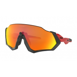 NEW OAKLEY FLIGHT JACKET - Redline Prizm Ruby Polarized - OO9401-0837 d4c0c08f805b