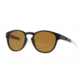 NEW OAKLEY LATCH - PRIZM BRONZE - MATTE BLACK - OO9265-3653