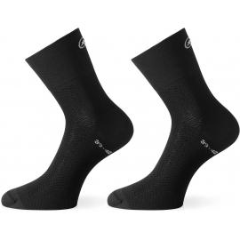 Socquettes ASSOS MILLE GT SOCK blackSeries