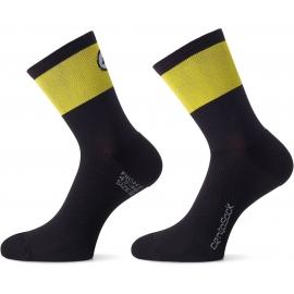 Socquettes ASSOS CENTOSOCKS EVO8 voltYellow