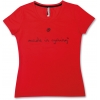 Tee shirt manches courtes ASSOS SS MADE IN CYCLING LADY nationalRed