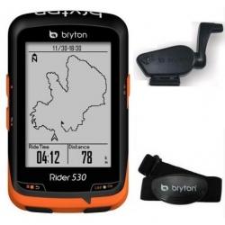 Compteur GPS BRYTON Rider 330 T - Avec Capteur Cardio et Cadence