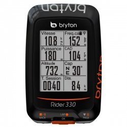 Compteur GPS BRYTON Rider Rider 330 C - Avec Capteur Cadence
