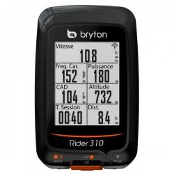 Compteur BRYTON Rider 310 T - Avec Capteur Cardio et Cadence