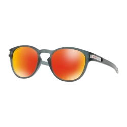 NEW OAKLEY LATCH - PRIZM RUBY - MATTE CRYSTAL BLACK - OO9265-4153