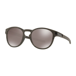 NEW OAKLEY LATCH - PRIZM BLACK POLARIZED - WOODGRAIN - OO9265-3853