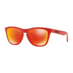NEW OAKLEY FROGSKINS - PRIZM RUBY - MATTE RED - OO9013-E055