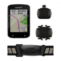 GARMIN Edge 520 BUNDLE - Avec Capteurs cadence, vitesse et ceinture cardio
