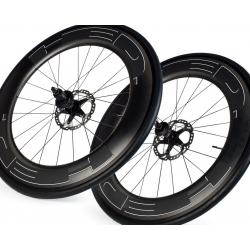 Paire roues HED JET 9 PLUS frein a disque pneu