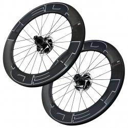 Paire roues HED VAINQUISH 8 frein a disque Boyau