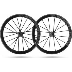 Paire roues Lightweight MEILENSTEIN OBERMAYER SCHWARZ EDITION
