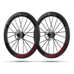 Paire roues Lightweight FERNWEG C DISC 63 Red label -NEW 2019