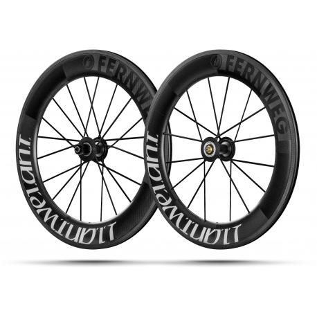 Paire roues Lightweight FERNWEG C 85 White label - NEW 2019