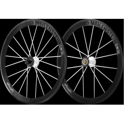 Paire roues Lightweight MEILENSTEIN C 24E - WEISS EDITION