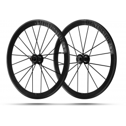 Paire roues Lightweight MEILENSTEIN T 24E - SCHWARZ EDITION