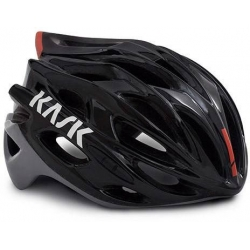 Casque KASK MOJITO X - BLACK ASH RED