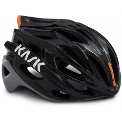 Casque KASK MOJITO X - BLACK ASH ORANGE