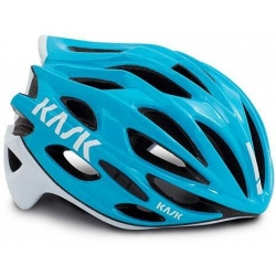 Casque KASK MOJITO X - LIGHT BLUE - WHITE