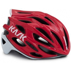 Casque KASK MOJITO X - RED - WHITE