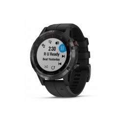 GARMIN FENIX 5 Plus, black Sapphire - bracelet noir, performer - HRM TRI - Montre GPS Running