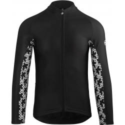 Maillot manches longues Homme ASSOS LS JERSEY MILLE GT Spring Fall - blackSeries
