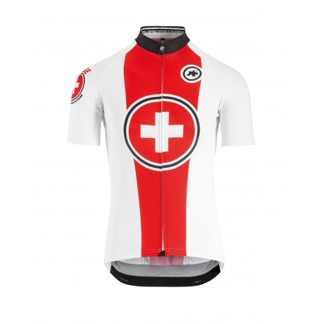 Maillot manches courtes ASSOS SUISSE FED SS JERSEY