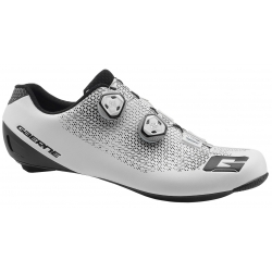 GAERNE G Chrono Composite Carbon White 2019 - Paire de Chaussures velo route