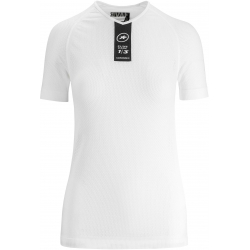 Sous vetement manches courtes ASSOS Skinfoil SS Summer Base Layer Holy White - NEW 2019