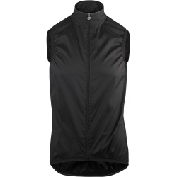 Veste thermique coupe vent sans manches ASSOS MILLE GT WIND VEST - blackSeries