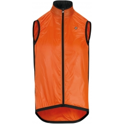 Veste thermique coupe vent sans manches ASSOS MILLE GT WIND VEST - Lolly Red