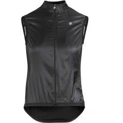 Veste pluie Coupe vent Femme ASSOS UMA GT WIND VEST SUMMER - blackSeries
