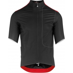 Maillot course unisexe imperméable ASSOS LIBERTY RS23 THERMO RAIN JERSEY blackSeries