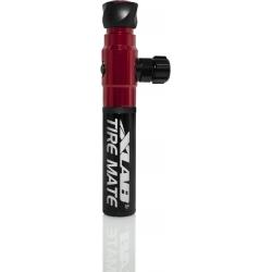 Mini pompe double fonction XLAB TIRE MATE – INFLATOR CO2 et Pompe