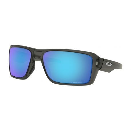Oakley DOUBLE EDGE Grey Smoke Prizm Sapphire Polarized - OO9380-0666
