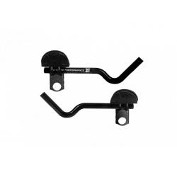 Prolongateurs Carbone et Repose-Bras 3T Clip On Team Wrist Confort