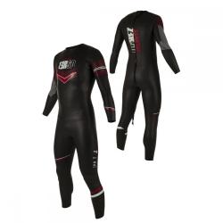 Combinaison Triathlon Homme ZEROD ATLANTE MAN - BLACK/RED - New 2019